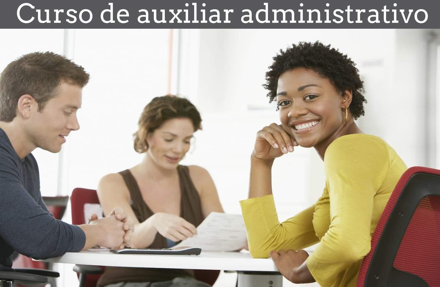 Curso de auxiliar administrativo online gratuito