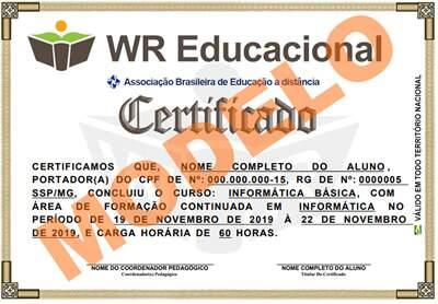 d6d8d0578b Cursos Online grátis Com Certificado