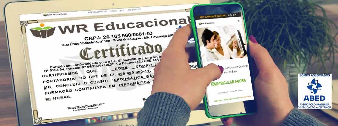 Cursos Online Grátis Com Certificado Wr Educacional