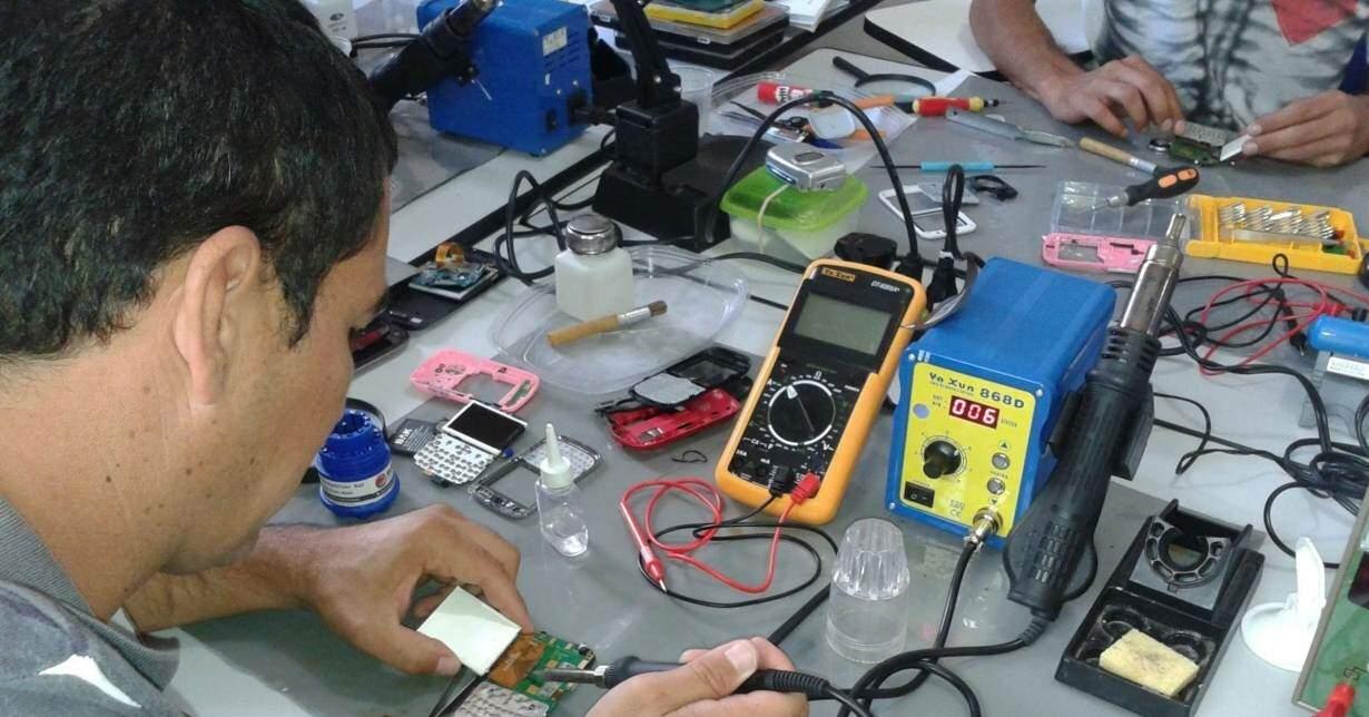 curso gratis de reparacion de celulares en pdf