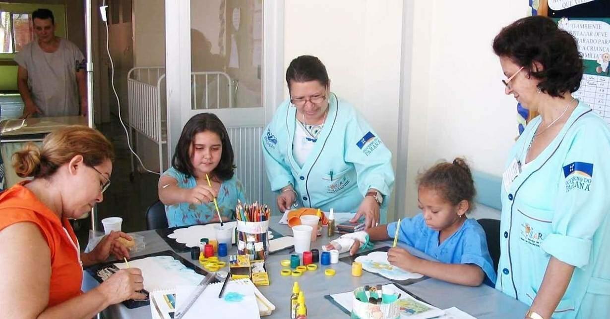 Curso de pedagogia hospitalar